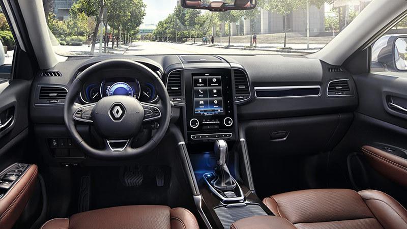 Renault Koleos 2017. Imágenes interiores