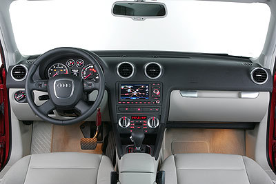 Audi A3. Modelo 2008
