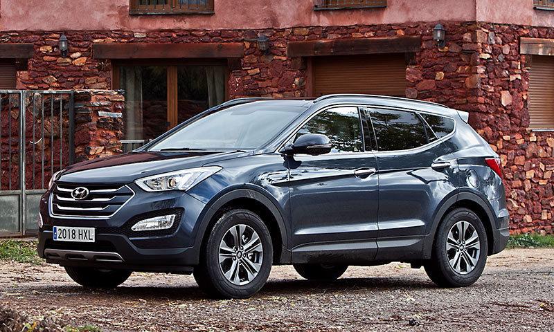 Hyundai Santa Fe. Modelo 2012
