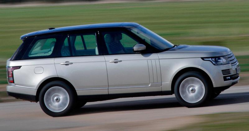 Land Rover Range Rover. Modelo 2013.