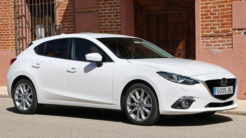 Mazda3 SKYACTIV-D 105 CV 2016. Imágenes exteriores