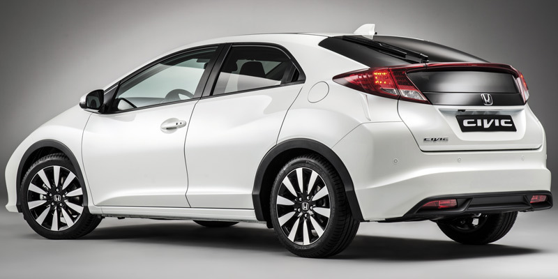 Honda Civic. Modelo 2014.