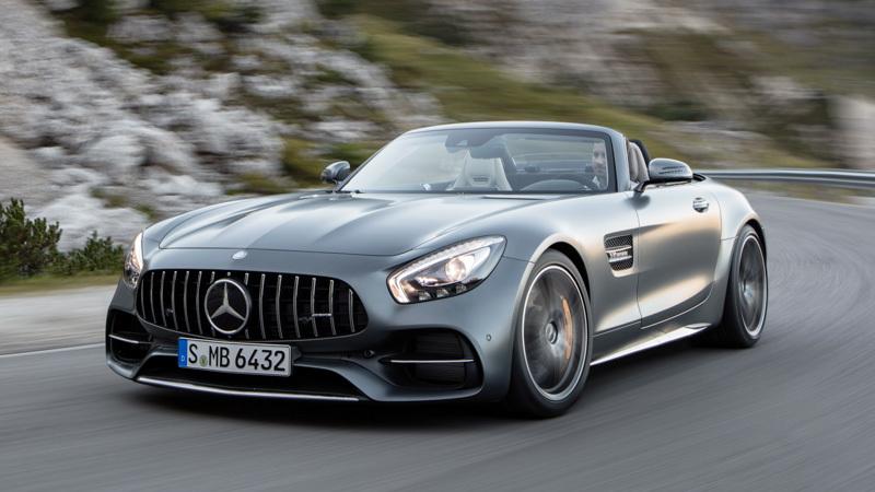 Mercedes-AMG GT C Roadster. Imágenes exteriores.