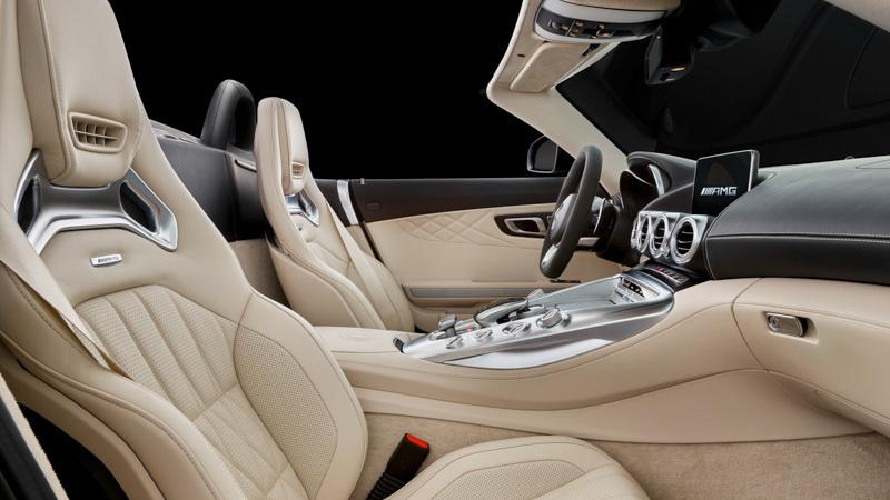 Mercedes-AMG GT C Roadster. Imágenes interiores.