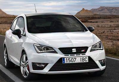 Seat Ibiza Cupra. Modelo 2013