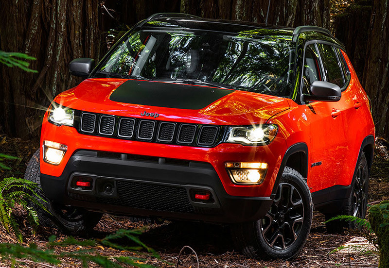 Jeep Compass 2017. Imagen frontal