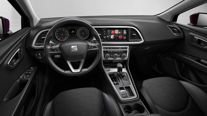 Seat le n 2017 informaci n general for Interior seat leon