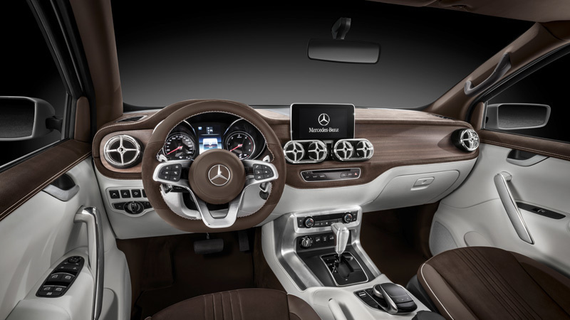 Mercedes-Benz Concept Clase X. Prototipo 2016.