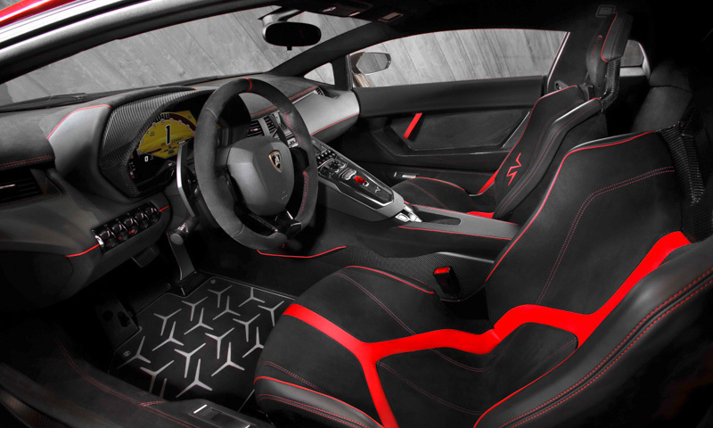 Lamborghini Aventador LP 750-4 SV 2015