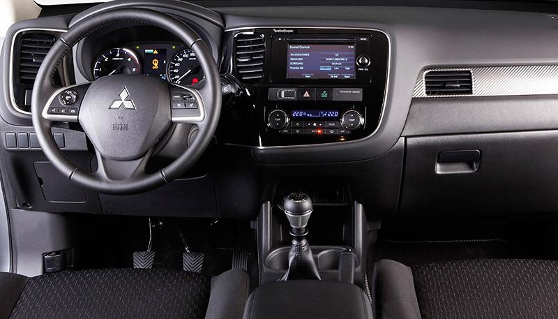 Mitsubishi Outlander. Modelo 2013