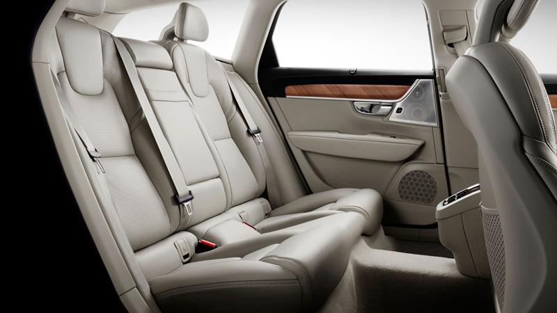 Volvo V90 2017. Imágenes interiores.