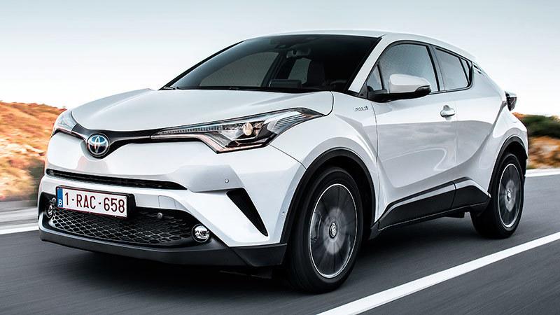 Toyota C-HR 2017. Imágenes exteriores.