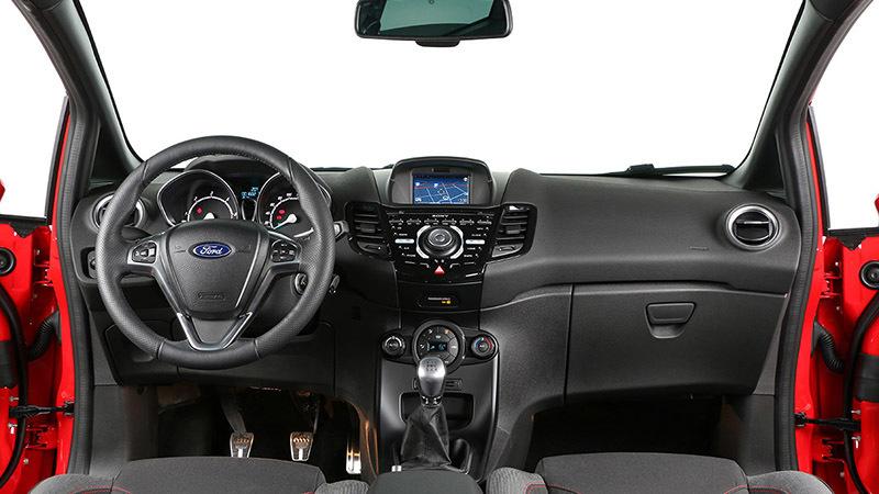 Ford Fiesta ST-Line - Salpicadero
