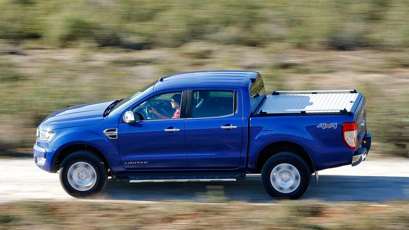 Ford Ranger 2016. Imágenes exteriores.