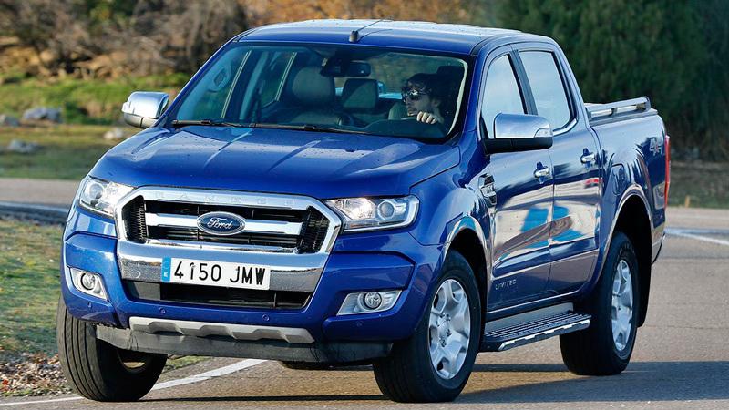 Ford Ranger 2016. Imagenes exteriores.