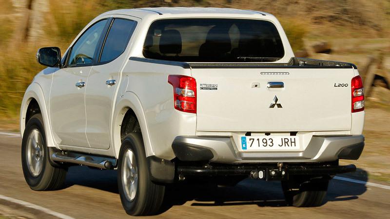Mitsubishi L200 2015. Imágenes del exterior.