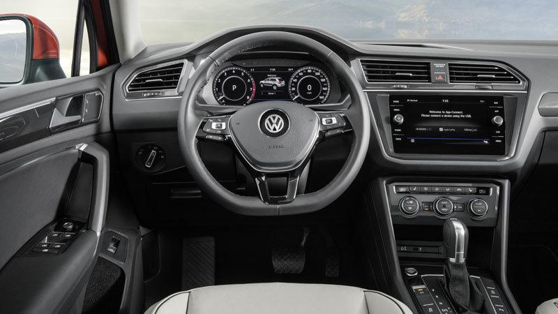 Volkswagen Tiguan Allspace 2018. Salpicadero