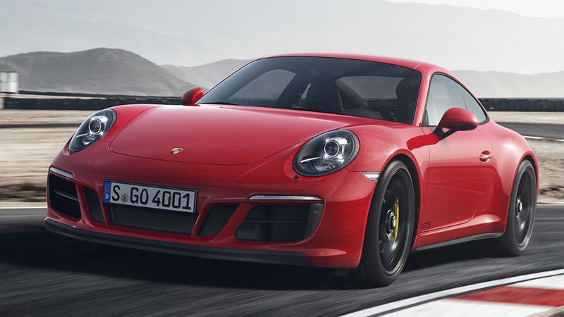Porsche 911 GTS. Imagen exterior