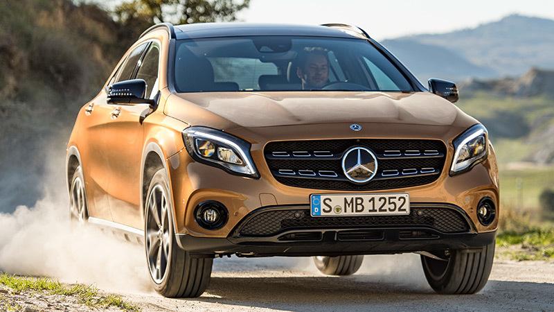 Mercedes-Benz GLA 2017. Imágenes del exterior