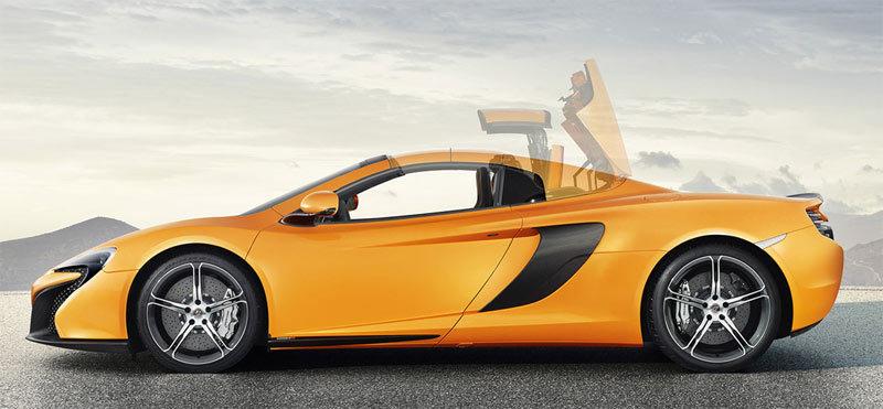 McLaren 650S Spider. Modelo 2014