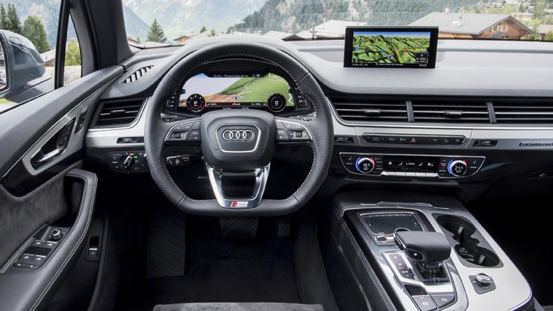 Audi Q7 2015 , salpicadero