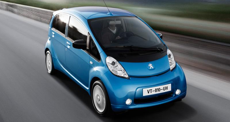 Peugeot iOn 2011. Imágenes exteriores