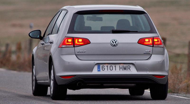 Volkswagen Golf. Modelo 2013