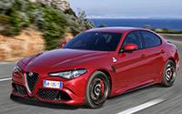 Alfa Romeo Giulia Quadrifoglioo. Imágenes exteriores.