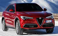 Alfa Romeo Stelvio. Imágenes exteriores e interiores.