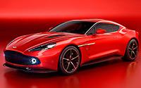 Aston Martin Vanquish Zagato Concept. Imágenes exteriores e interiores.