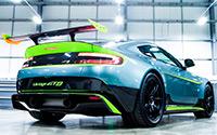Aston Martin Vantage GT8. Imágenes exteriores.