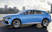Audi Q8 concept. Imágenes exteriores.