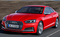 Audi A5 Coupé. Imágenes exteriores.