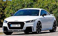 Audi TT RS Coupé y TT RS Roadster. Imágenes exteriores.