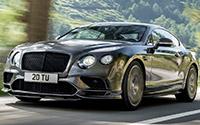 Bentley Continental Supersports. Imágenes exteriores.