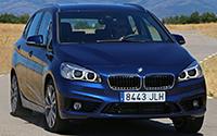 BMW 225xe. Imágenes