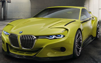 BMW 3.0 CSL Hommage. Imágenes exteriores e interiores.