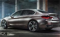 BMW Concept Compact Sedan. Imágenes exteriores
