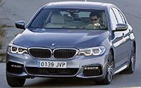 BMW Serie 5. Imágenes exteriores.