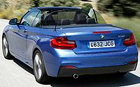 BMW 220i Cabrio 184 CV. Imágenes.