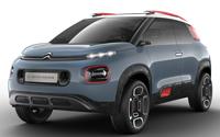 Citroën C-Aircross Concept. Imágenes exteriores e interiores.