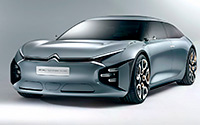 Citroën CXPERIENCE concept. Imágenes exteriores e interiores.