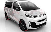 Citroën Spacetourer 4x4 Ë Concept. Imágenes exteriores e interiores.