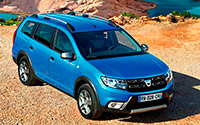 Dacia Logan MCV Stepway. Imágenes exteriores.