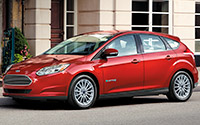 Ford Focus Eléctrico. Imágenes exteriores.