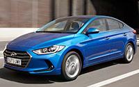 Hyundai Elantra. Imágenes exteriores.