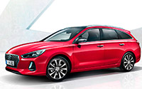 Hyundai i30 CW. Imágenes exteriores.