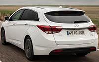 Hyundai i40 CW. Imágenes exteriores