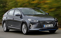 Hyundai IONIQ Híbrido. Imágenes exteriores.