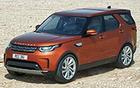 Land Rover Discovery. Imágenes exteriores.